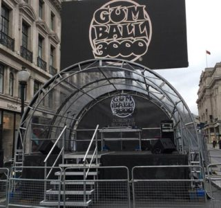 GUMBALL 3000 stage backdrop