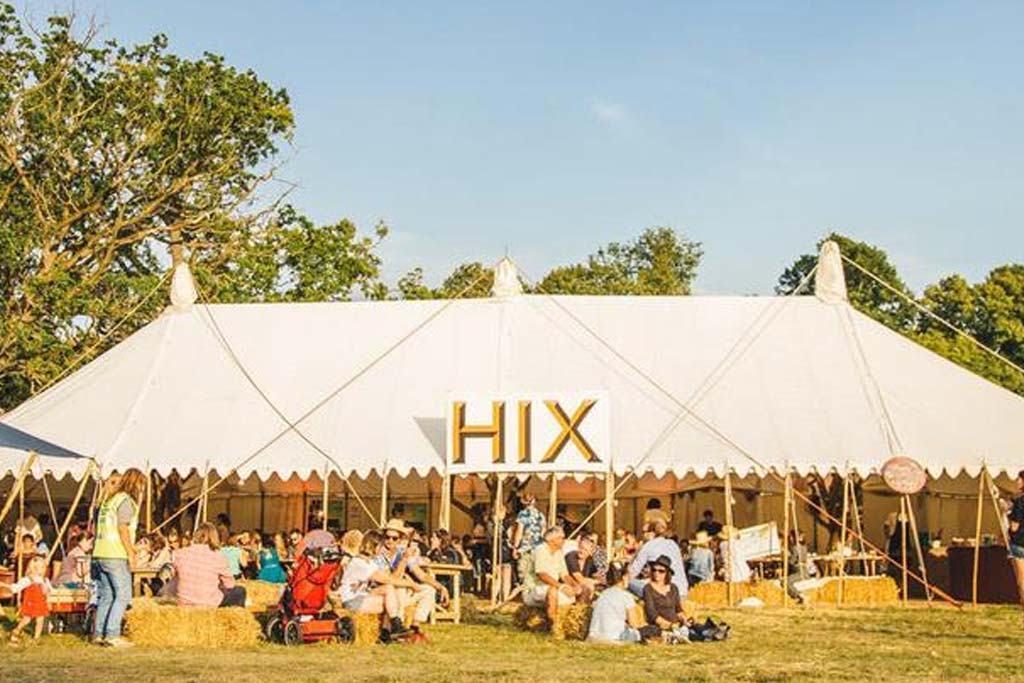 HIX festival promotional banner in 2016