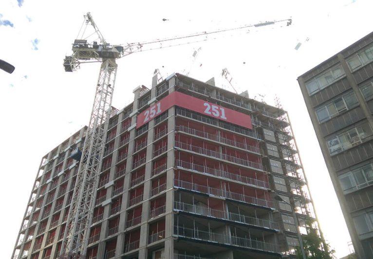 251 mesh building wrap