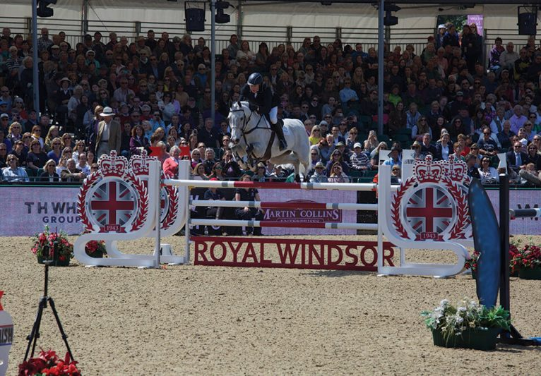 Showjumping at Royal Windsor Show 2016