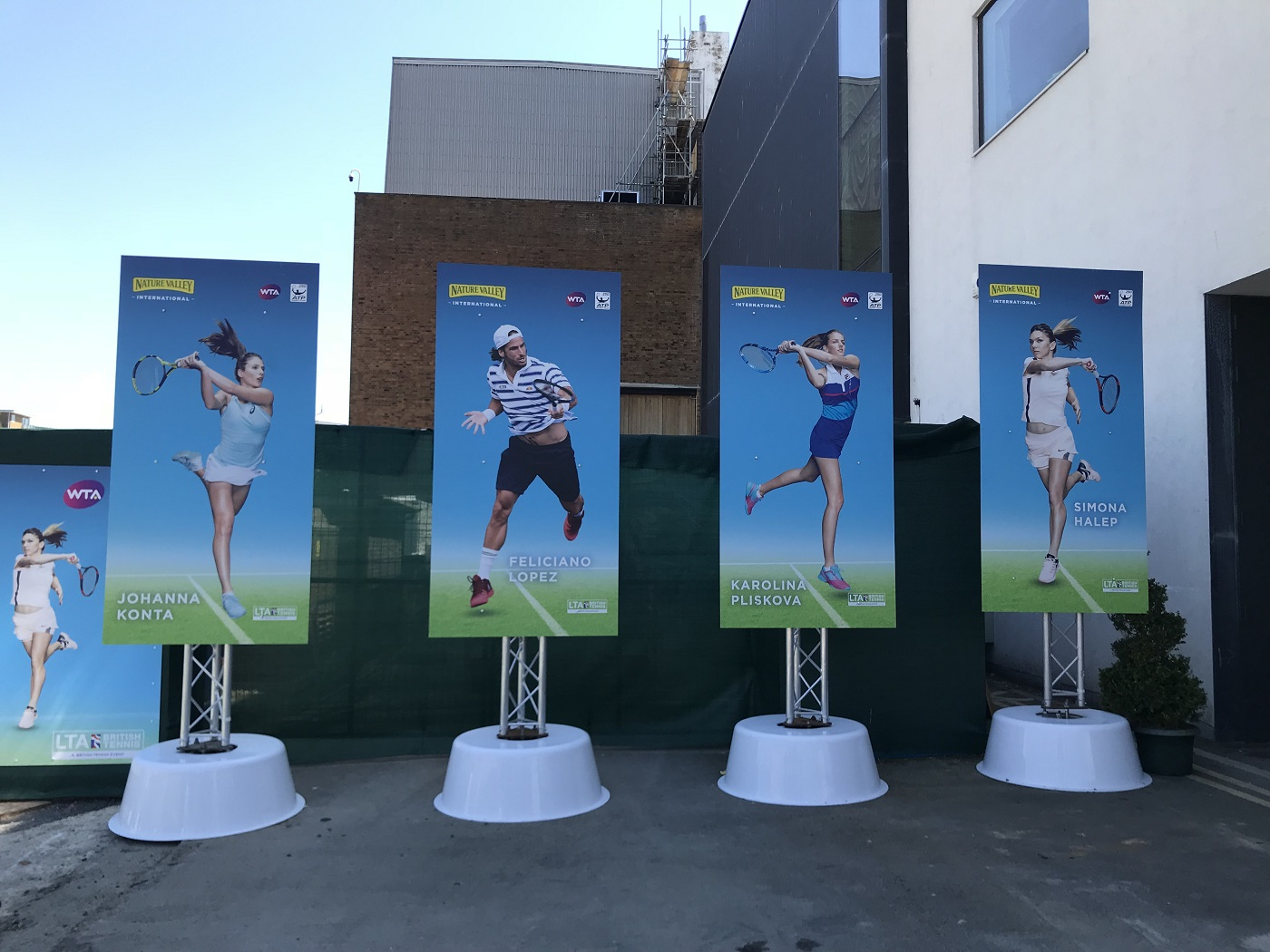 Event branding for Eastbourne 2018