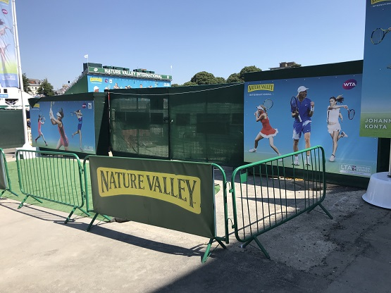 Nature Valley branding assets for Eastbourne 2018