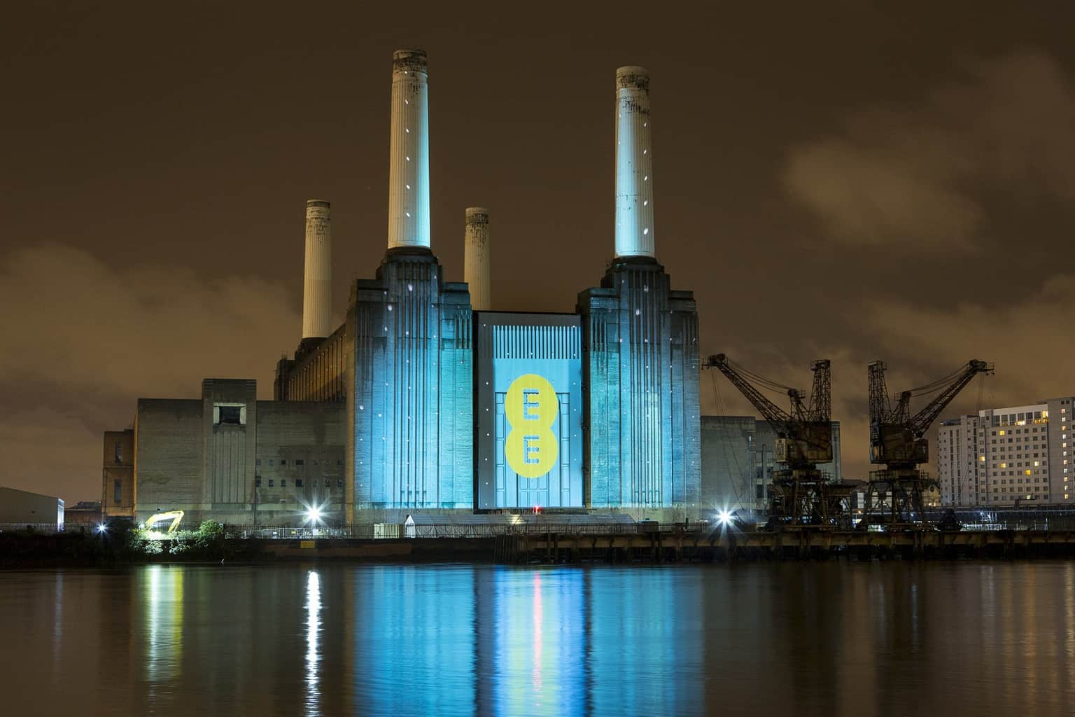 EE Launch at Battersea Power Station