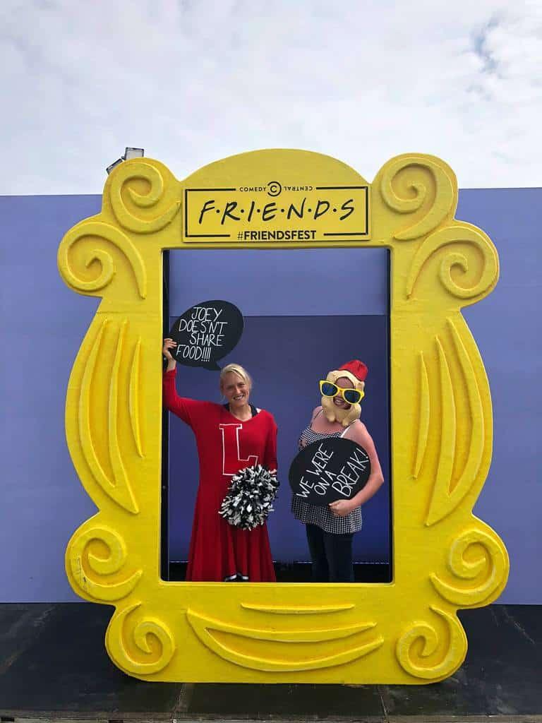 FriendsFest 2018 Event Branding