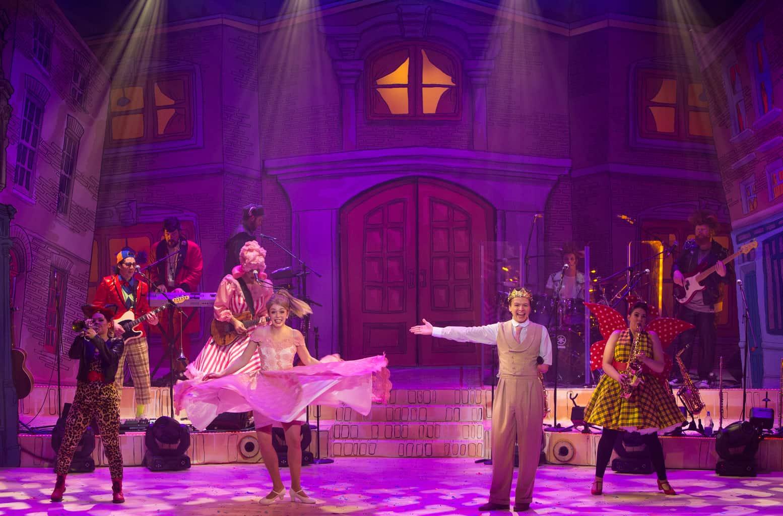 Mambo Backlit backdrop for Dick Whittington pantomime