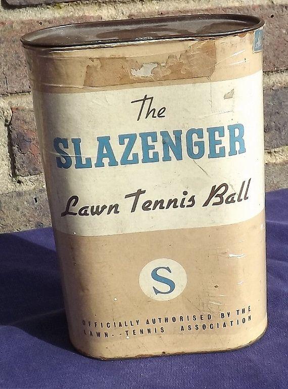 The Slazenger Lawn Tennis Ball