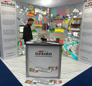 Sunbaba's Stand at The Showman's Show